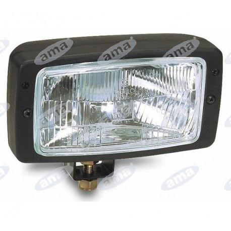 Górne światło 12V H4/3W 184x102 mm bez żarówki