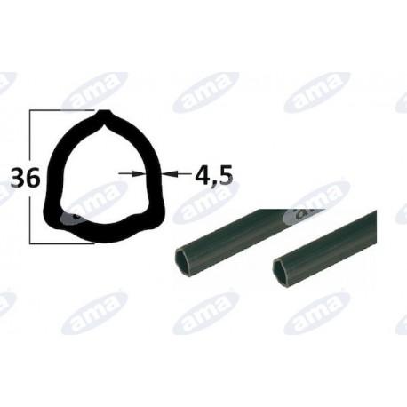 rura 1m, profil trójkątny 36x4,5, P6