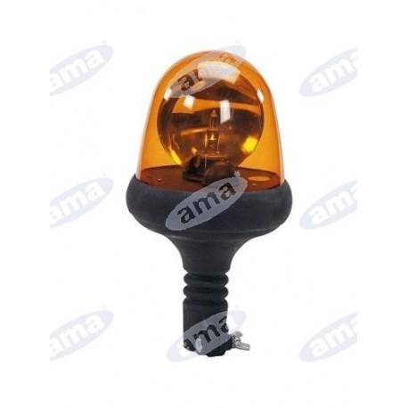 Lampa ostrzegawcza 12V z elastycznym uchwytem