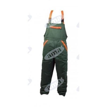 Spodnie pilarza typu OGRODNICZKI, profesjonalne, rozmiar M