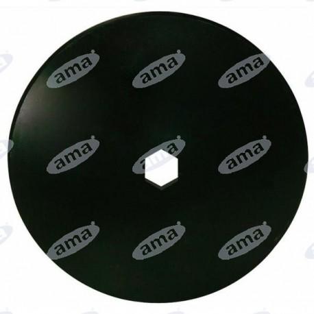 Talerz do brony, gładki 610 mm, otwór 92 mm, grubość 5 mm