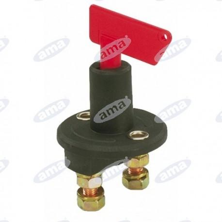 Wyłącznik akumulatora z wyjmowanym kluczem 12/24 V