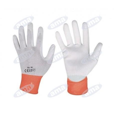 Rękawice uniwersalne, powlekane poliuretanem, rozmiar L
