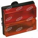 Tylna lampa, lewa - typ SAME 2.8019.420.0