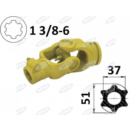 kompletny przegub Cardanane rurę 51x37, G7