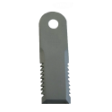Nóż szarpacza słomy, ryflowany, 173X50X4, otwór fi 18