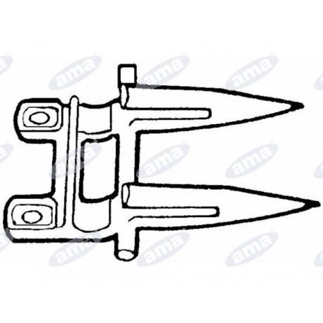 Bagnet podwójny LAVERDA, 321115050, 301896130, B64902