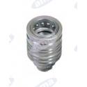 Szybkozłącze hydrauliczne FASTER 18x1,5 z gwintem zewnętrznym - żeńskie CNV