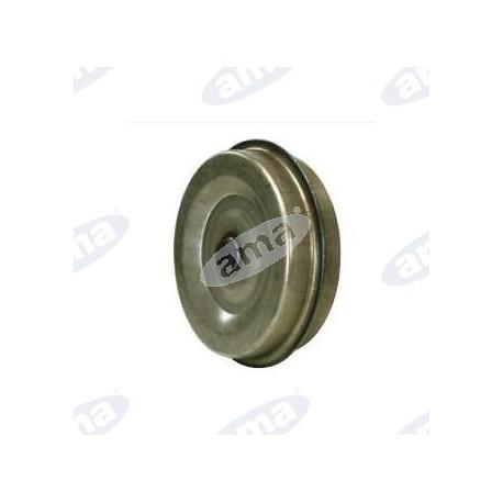 Stalowe koło 400x140mm z nylonowym pierścieniem