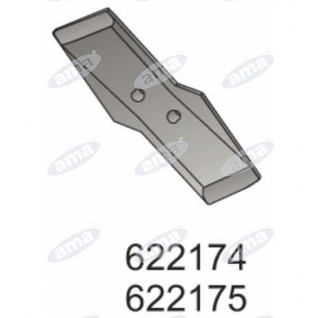 Kuhn, dłuto odwracalne lewe 15mm, 622174