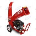 Rozdrabniacz do gałęzi GTM, 9KM - 80mm