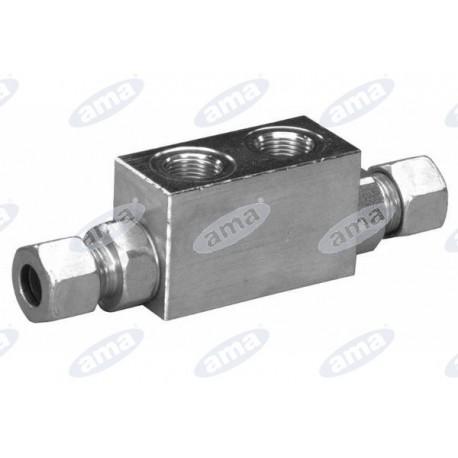 """Zamek hydrauliczny 3/8"""" 35 l/m 350bar"""