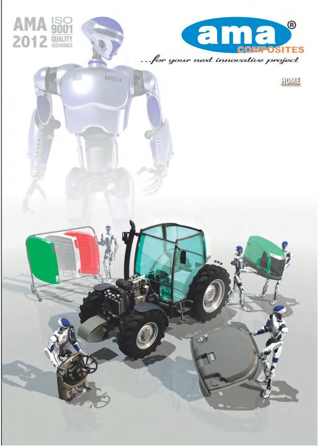 Katalog AMA elementy kabin maszyn rolniczych