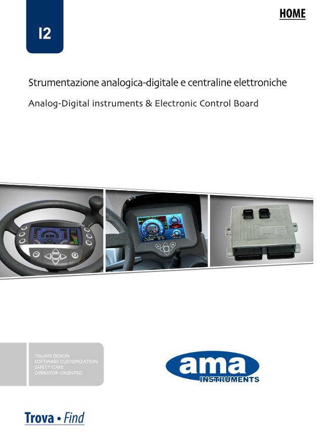 Katalog instrumenty-wyświetlacze AMA