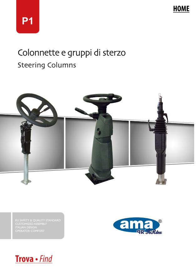 Katalog zabudowa kolumny kierowniczej AMA