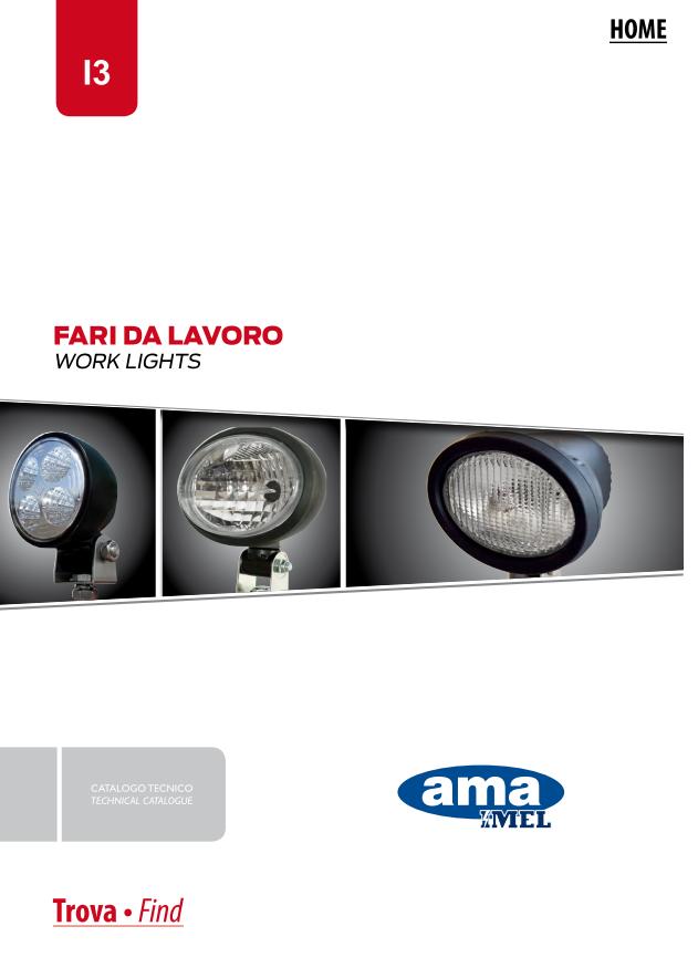 Katalog AMA oświetlenie pojazdu