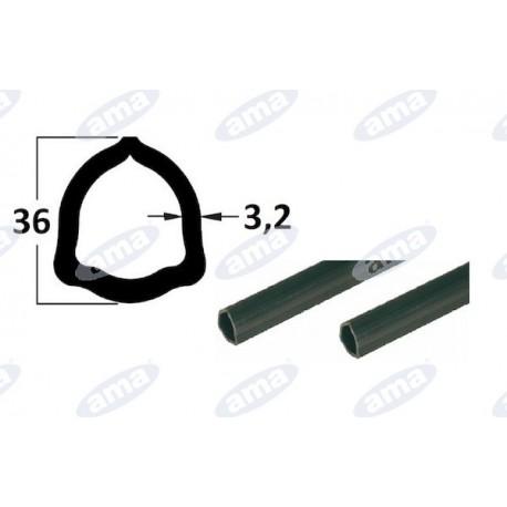 rura 1m, profil trójkątny 36x3,2, P4