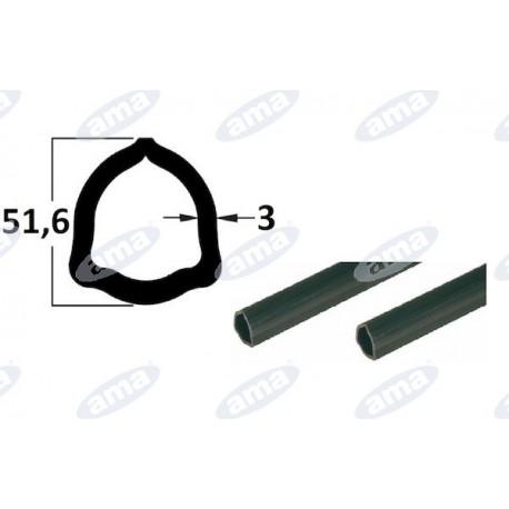 rura 1m , profil trójkątny 51,6x3, P8