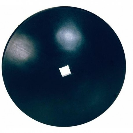 Talerz do brony, gładki 460 mm, otwór 26 mm, grubość 3 mm