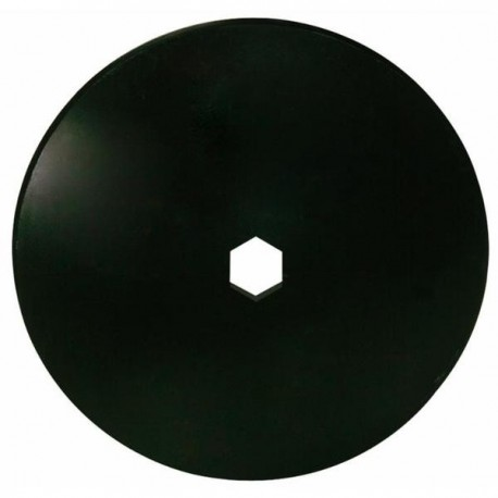 Talerz do brony, gładki 560 mm, otwór 67 mm, grubość 4,5 mm
