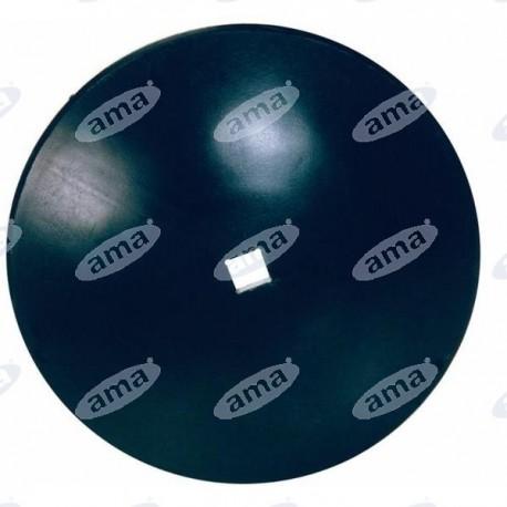 Talerz walcowany, gładki 610 mm, otwór 41 mm, grubość 6 mm