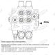 Dwusekcyjny rozdzielacz, typ SD5, G