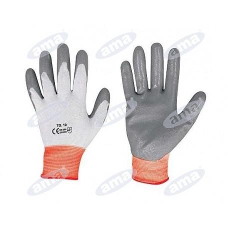 Rękawice uniwersalne, powlekane nitrylem, rozmiar L