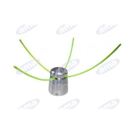 Głowica 4 żyłkowa, aluminiowa