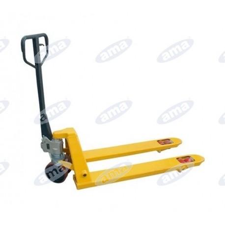 Wózek do palet z podnośnikiem, paleciak 2,5T, L1150mm