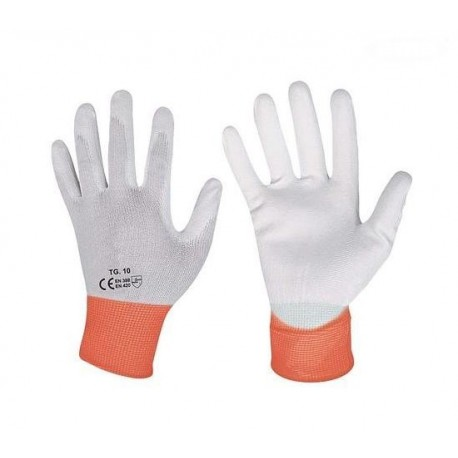 Rękawice uniwersalne, powlekane poliuretanem, rozmiar M