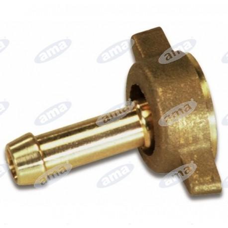 Złączka na wąż ⌀ 10mm, z nakrętką