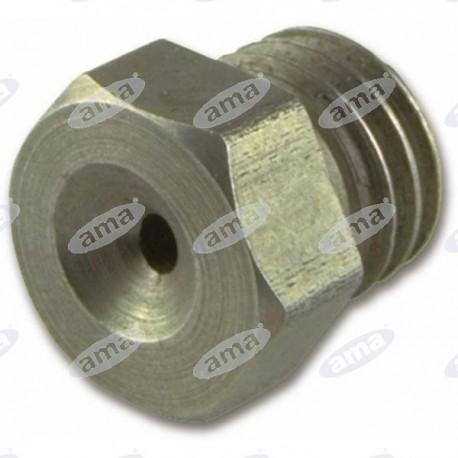 Dysza heksagonalna, stalowa 1mm
