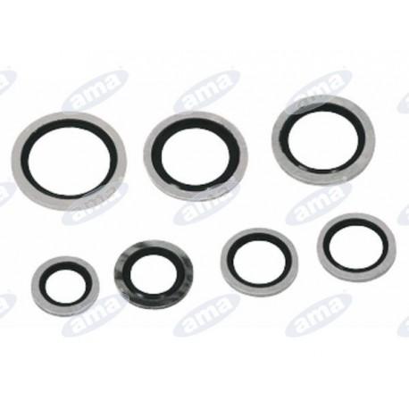 Uszczelka z gumowym pierścieniem M18,15x25,55