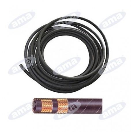 """Wąż hydrauliczny wysokociśnieniowy z podwójnym stalowym oplotem, 1/2"""" - AMA REFLUID"""