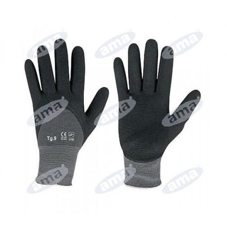 Uniwersalne rękawice lateksowe, powlekane, rozmiar L