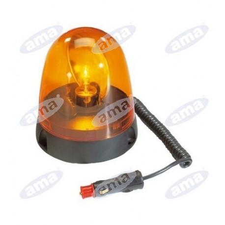 Lampa ostrzegawcza 12/24V na magnes