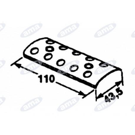 Płytka do łączenia pasów 110x43 Gallignani