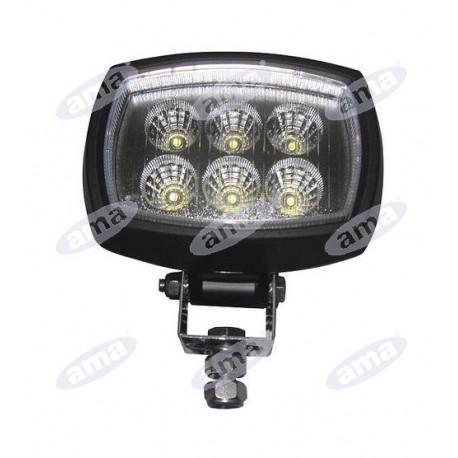 Światło robocze LED 9-56V 18W 600lm IP66