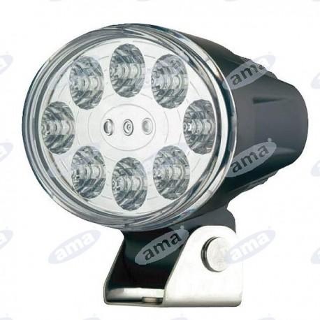 Światło robocze LED 9-30V, 18W, 1100lm IP67