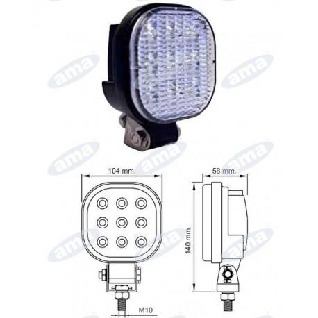 Światło robocze LED 12/24V 1000LM