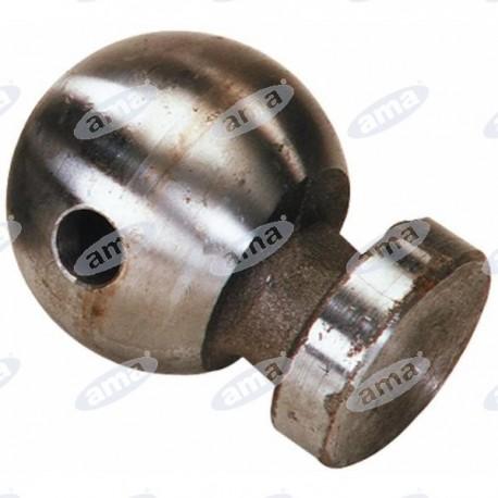 Kula zaczepu Ø 80 mm z otworem 18 mm