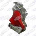 Szybkozłącze pneumatyczne do ciągnika czerwone gwint M16x1,5