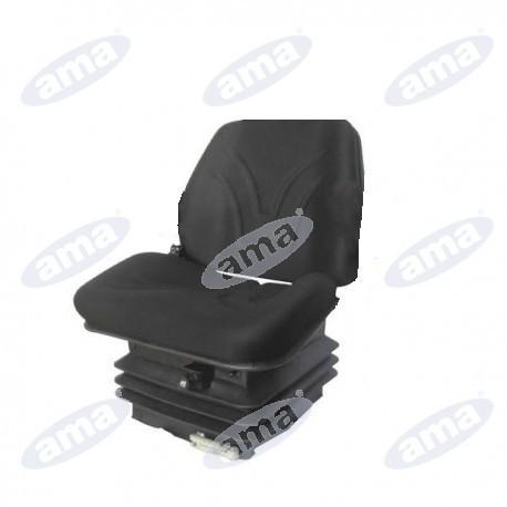 Fotel z amortyzacją pneumatyczną z funkcją pływającą, AMA SEAT 10550