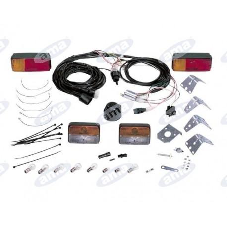 Uniwersalny zestaw montażowy oświetlenia dla ciągników