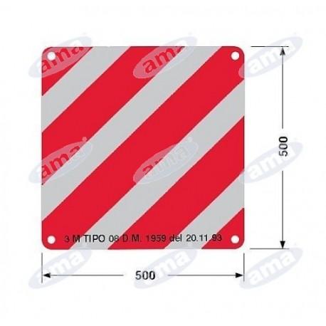 Tablica odblaskowa 500x500 mm