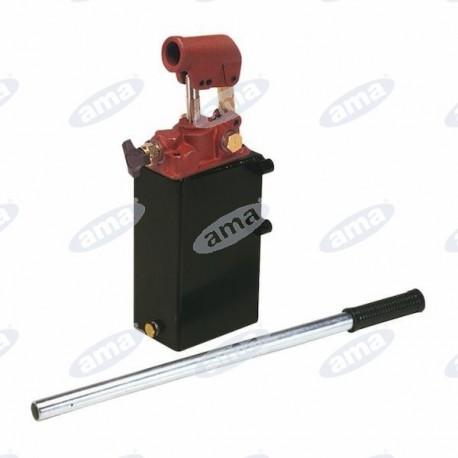 Wysokiej jakości ręczna pompa olejowa 5l, jednostronna z kranikiem spustowym