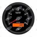 Obrotomierz z licznikiem motogodzin i wyświetlaczem LCD, 80,5mm