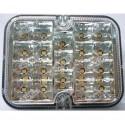 Lampa LED tylna, biała, 12V